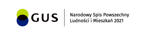 logo gus - Narodowy Spis Powszechny Ludności i Mieszkań 2021